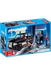 Playmobil Ladrón de Caja Fuerte con Coche 4059