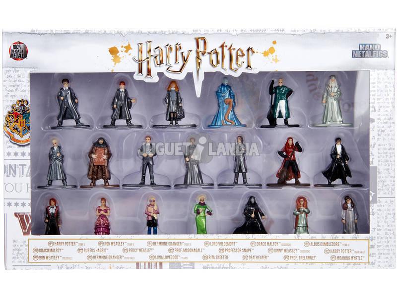 Harry Potter Set 20 Nano Figuras Metal 4 cm. Simba 3185000