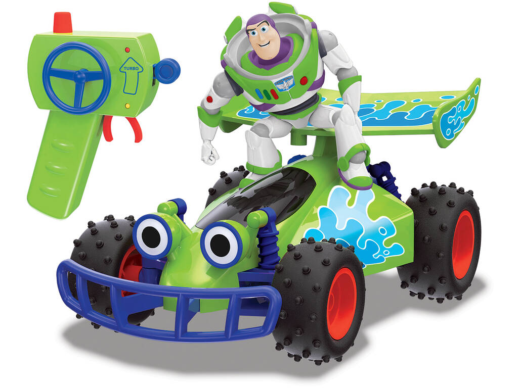 Radio Control 1:24 Toy Story 4 Turbo Buggy con Buzz Simba 3154000
