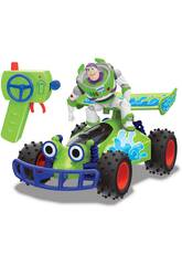 Radiocommande 1:24 Toy Story 4 Turbo Buggy avec Buzz Simba 3154000