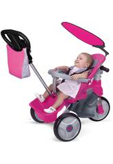 Triciclo Baby Trike Easy Evolution Rosa