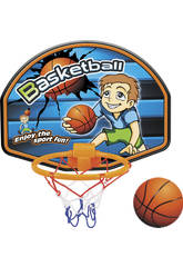 Panier de Basket 28 x 21,5 cm avec Ballon 7 cm.