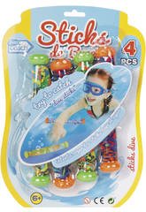Conjunto 4 Sticks Buceo