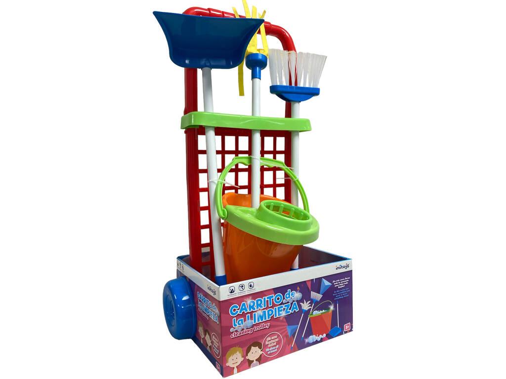 Carrito Limpieza Con Accesorios 56x24x19cm Vicam Toys 12