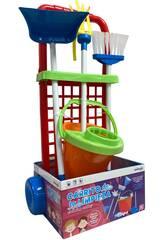 Chariot de Nettoyage avec Accessoires 56 x 24 x 19 cm Vicam Toys 12