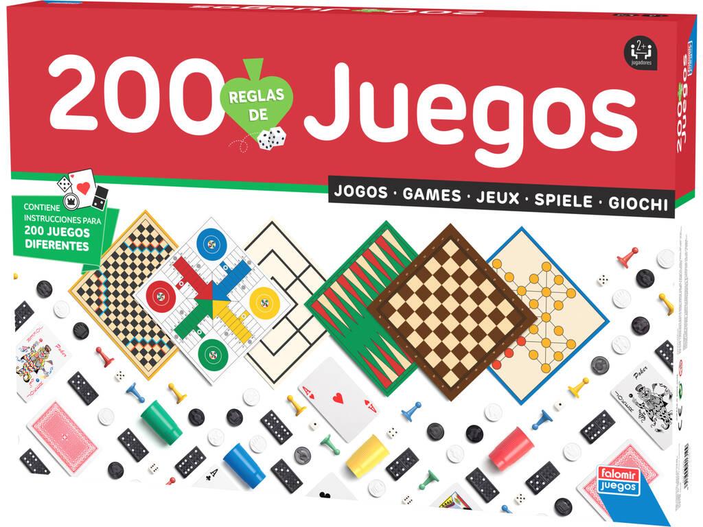 200 Jogos reunidos falomir