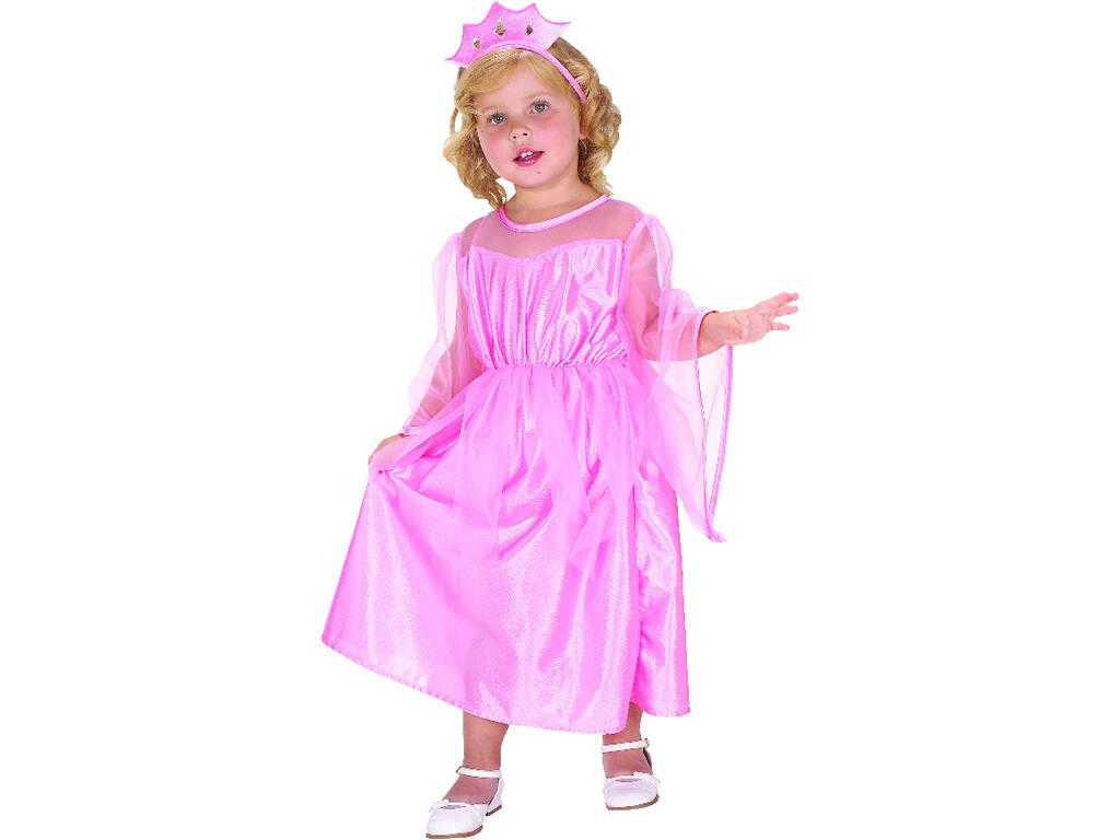 Disfraz Princesita Rosa Bebé Talla M