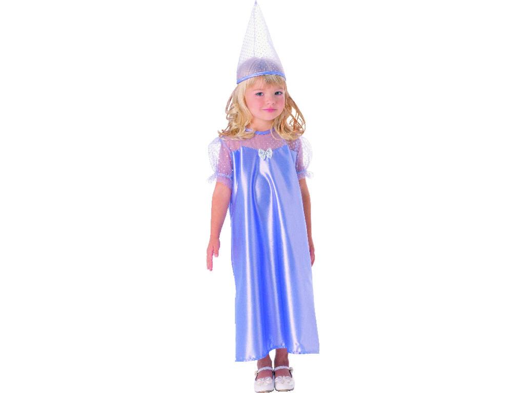 Disfraz Princesa Azul Gorro Bebé Talla M
