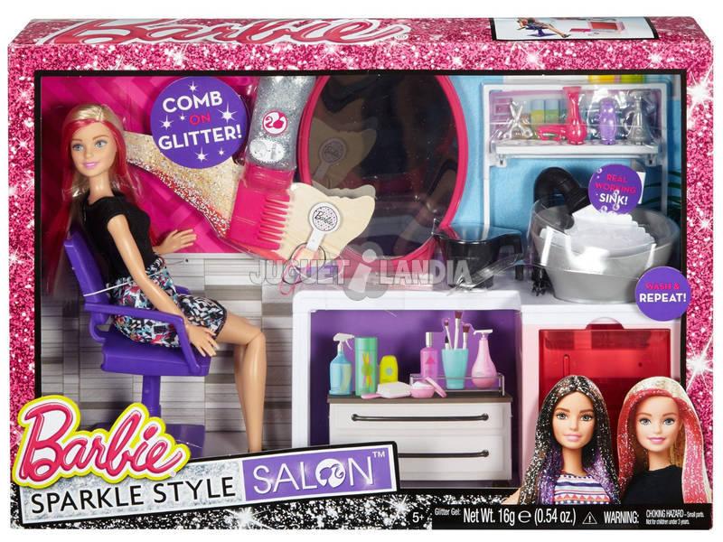 Barbie Cabeleleiro Purpurina Mágica