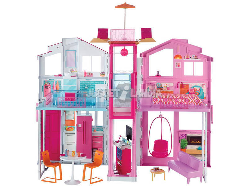 Barbie Supercasa Mattel DLY32