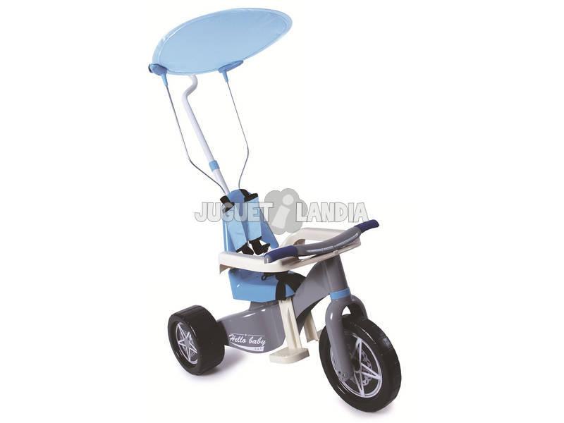 Triciclo Custom Azul Completo 5 en 1