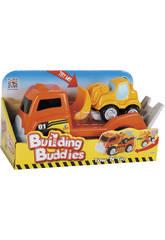 Camion con Miniexcavadora
