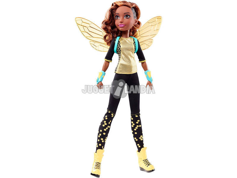 Muñeca DC Super Hero Girls Bumble Bee Mattel DLT66