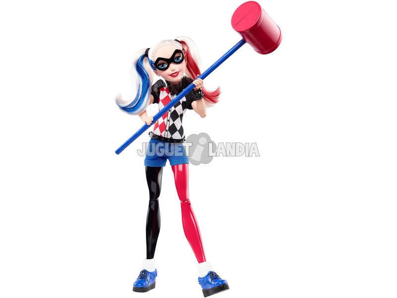 Muñeca DC Super Hero Girls Harley Quinn Mattel DLT65
