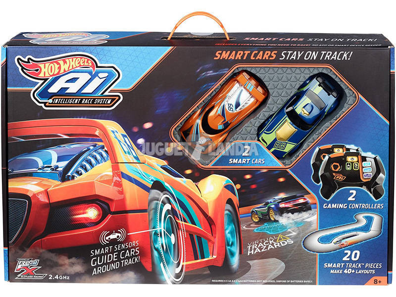 Hot Wheels Circuito De Carreras I.A. Mattel FBL83