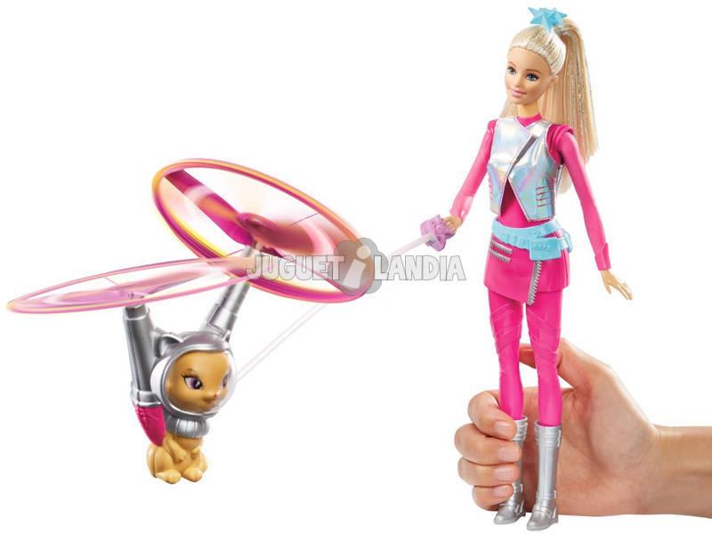 Barbie y Mascota Voladora Aventura En El Espacio