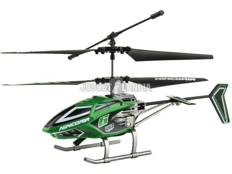 Rádio Controle Nincoair Helicóptero Alu-mini Whip 6 Ninco NH90099 Telecomando