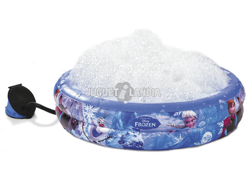 Piscina Hinchable Frozen Burbujas 105x23 cm.
