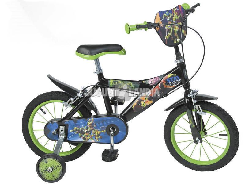Bicicleta Tortugas Ninja 14