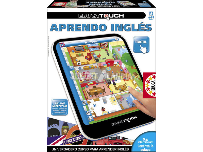 Educa Touch Aprende Inglés Educa 15747