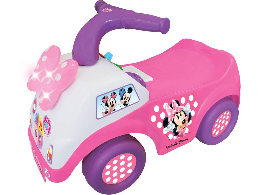 Carrinho andador Minnie com Luz e Sons 51x26x33cm