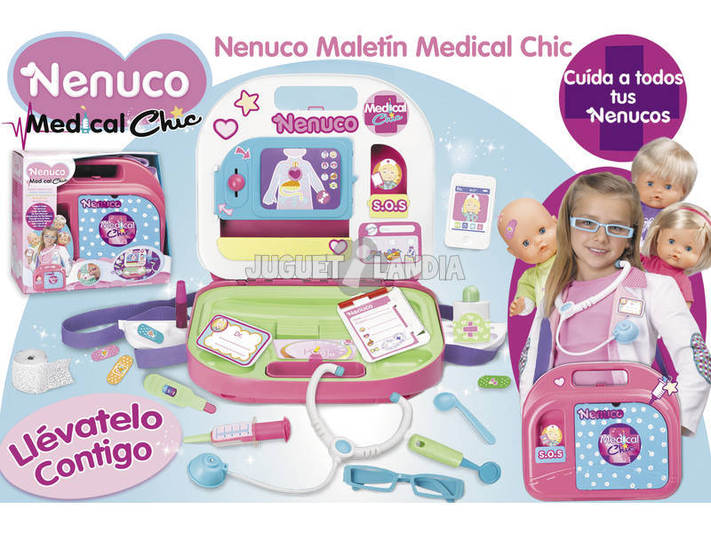 Nenuco Maletin Medico Medical Chic