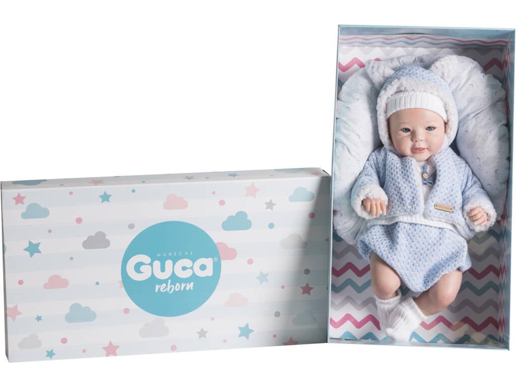 Muñeca Reborn Jacobo 46 Cm. Guca 10194