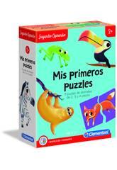 imagen Puzzles Forma De Animales Clementoni 55313