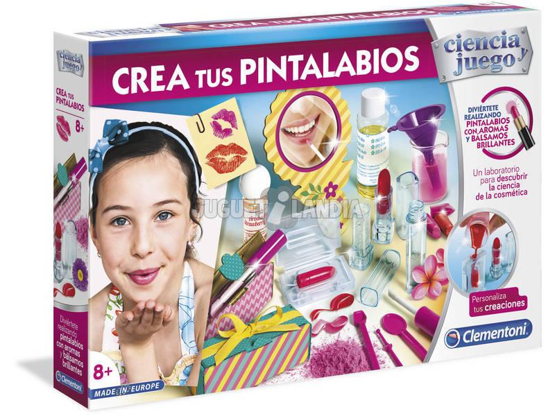 Créez votre rouge à lèvres Clementoni 55282