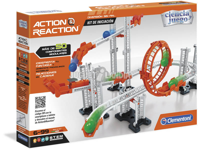 Action & Reaction Kit De Iniciação Clementoni 55340