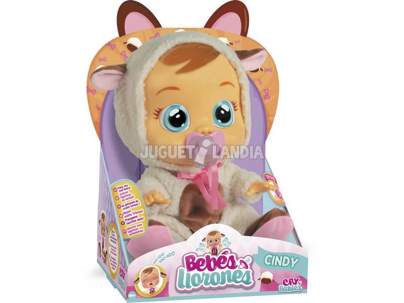 Bambola Cindy Bebès Llorones IMC Toys 92587