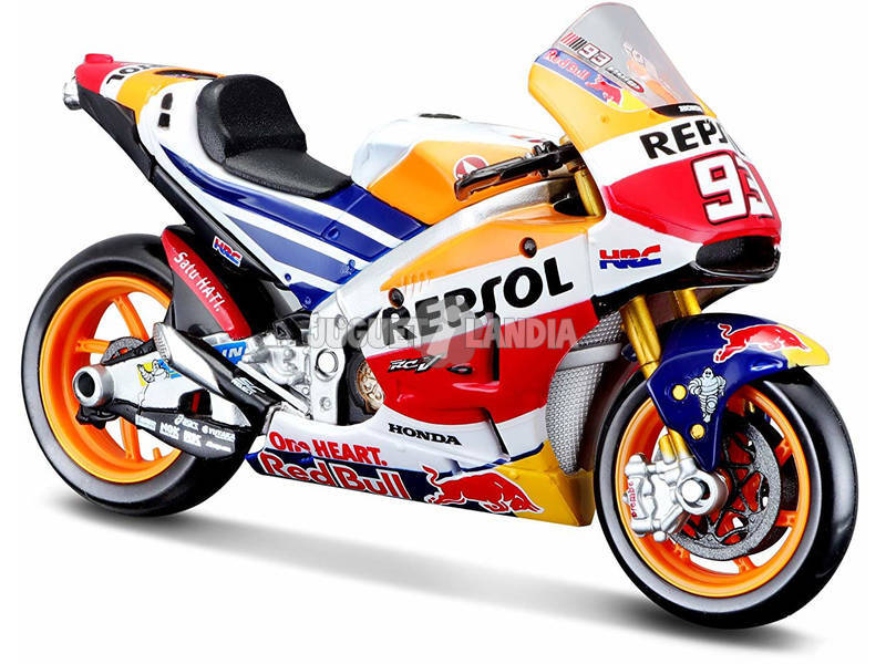 mota GP 1:18 Honda Repsol Marc Márquez Tavitoys 34592