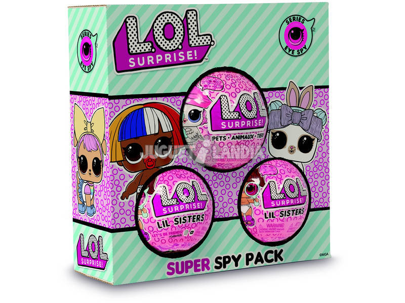 Lol Surprise Super Spy Pack Giochi Preziosi LLUP2000