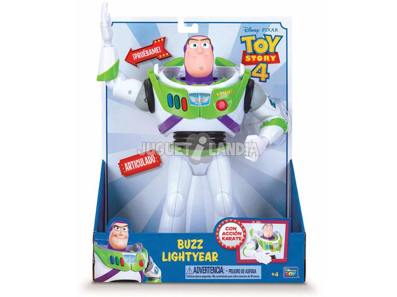 Toy Story 4 Coleção Buzz Lightyear Ação Karate Bizak 61234068