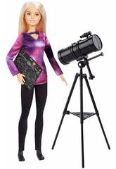 Barbie National Geographic Astronome Mattel GDM47