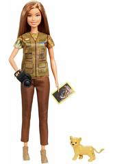 Barbie National Geographic Naturfotografin von Mattel GDM46