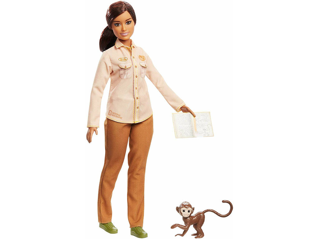 Barbie National Geographic Conservationniste de la Faune Mattel GDM48