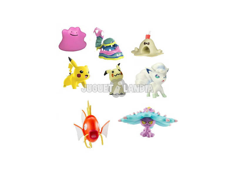 Pokémon Multipack 8 Figuras de Batalha Bizak 6322 5320