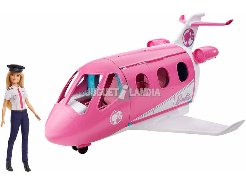 Avion De Barbie Avec Pilote GJB33