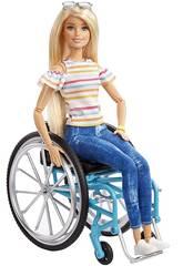Barbie Sedia a Rotelle Mattel GGL22