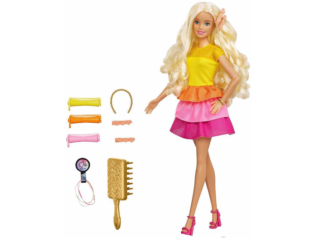 Barbie Riccioli Mattel GBK24