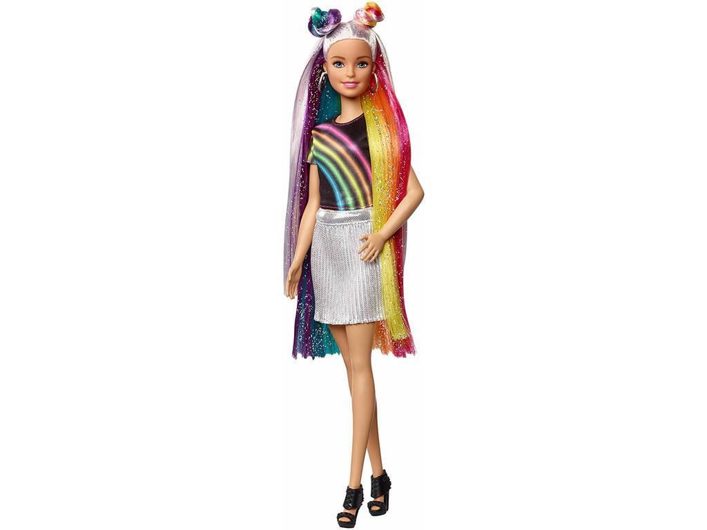 Barbie Cheveux Arc-en-ciel Mattel FXN96