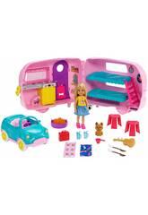 Barbie Caravane De Chelsea Mattel FXG90