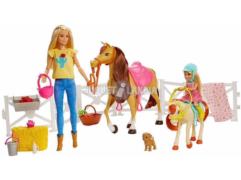 Barbie y Sus Caballos Mattel FXH15