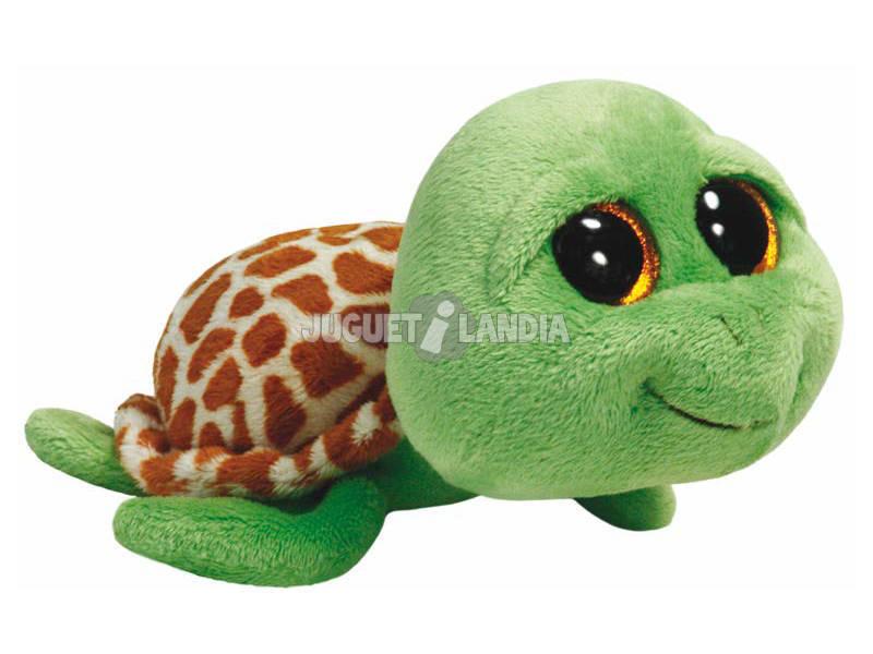 Pelúcia Zippy Green Tartaruga 23 Cm TY 36989TY