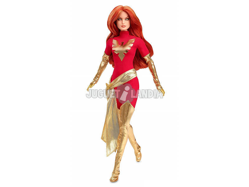 Barbie Colección Marvel Dark Phoenix Mattel GLJ54