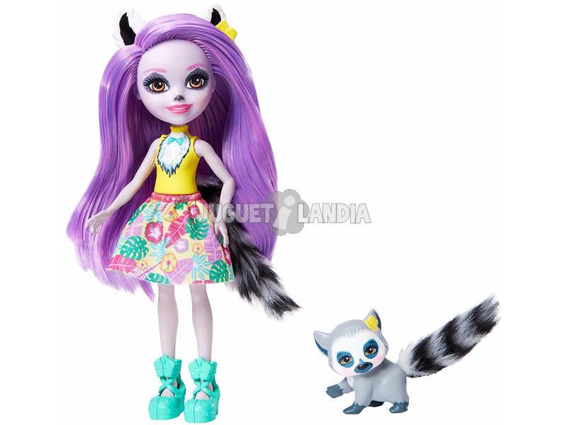 Enchantimals Bambola Larissa Lemure Mattel GFN44