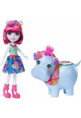 Enchantimals bambola Hedda Hippo Mattel GFN56