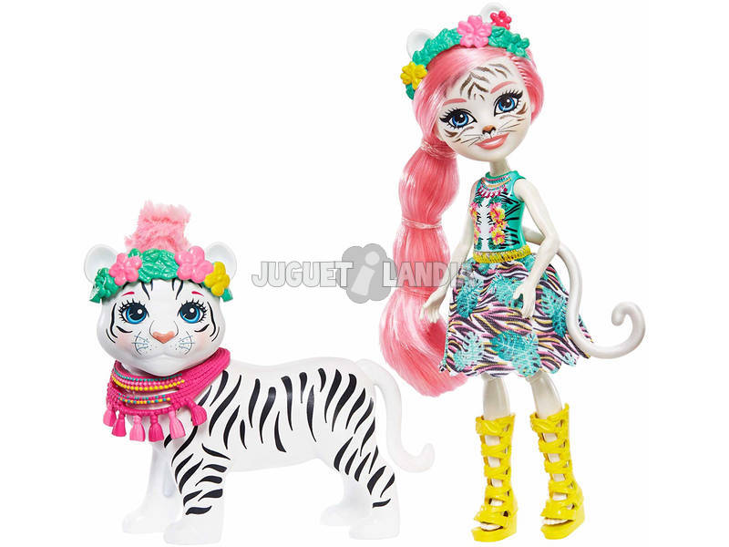 Enchantimals Muñeca Tadley Tiger Mattel GFN57