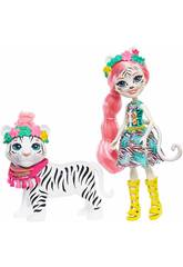 Enchantimals Puppe Tadley Tiger Mattel GFN57